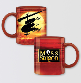 Miss Saigon the Broadway Musical 2017 Revival Mug