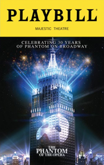 The Phantom of the Opera 30th Anniversary Special Edition Playbill