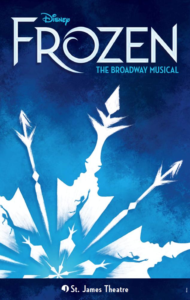 Frozen The Broadway Musical Poster Frozen