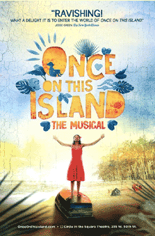 Once On This Island Poster 2017 Revival Posters Window