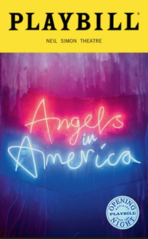 Angels in America: Millennium Approaches and Perestroika Limited Edition Official Opening Night Playbill  (2018 revival)