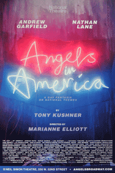 Angels in America: Millennium Approaches and Perestroika Poster