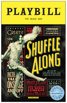 Shuffle Along Limited Edition Official Opening Night Playbill