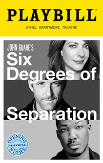 Six Degrees of Separation Limited Edition Official Opening Night Playbill