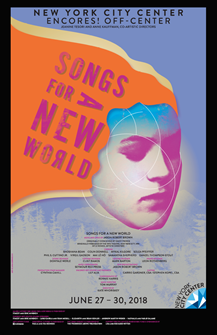 Songs For A New World - 2018 Encores Poster