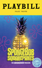 SpongeBob SquarePants, The Broadway Musical Limited Edition Official Opening Night Playbill