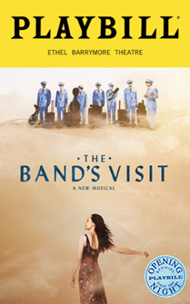 The Bands Visit Limited Edition Official Opening Night Playbill