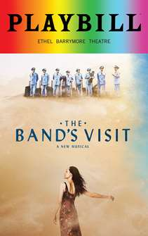 The Bands Visit - June 2018 Playbill with Rainbow Pride Logo