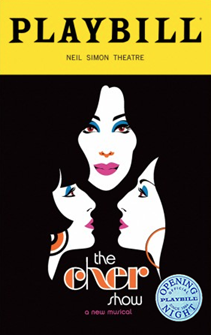 The Cher Show Limited Edition Official Opening Night Playbill