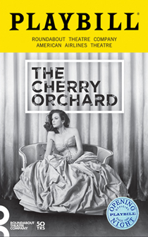 The Cherry Orchard Limited Edition Official Opening Night Playbill