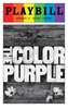 The Color Purple - June 2016 Playbill with Rainbow Pride Logo
