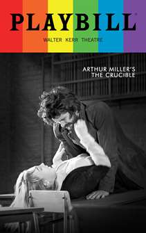 The Crucible - June 2016 Playbill with Rainbow Pride Logo