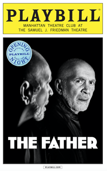 The Father Limited Edition Official Opening Night Playbill