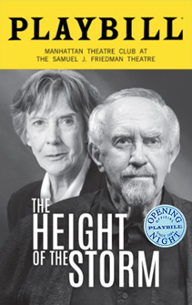 The Height of the Storm Limited Edition Official Opening Night Playbill