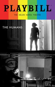 The Humans - June 2016 Playbill with Rainbow Pride Logo