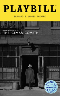 The Iceman Cometh Limited Edition Official Opening Night Playbill 2018 Revival