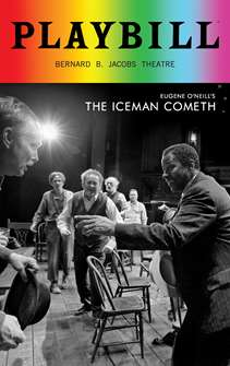 The Iceman Cometh - June 2018 Playbill with Rainbow Pride Logo