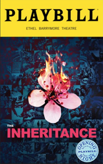 The Inheritance Limited Edition Official Opening Night Playbill