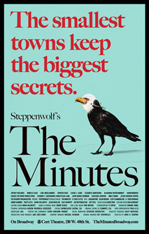 The Minutes the Broadway Play Poster