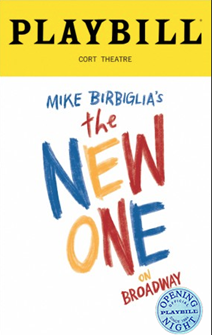 Mike Birbiglias The New One Limited Edition Official Opening Night Playbill