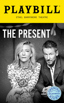 The Present Limited Edition Official Opening Night Playbill
