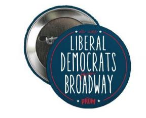 The Prom The Broadway Musical Button