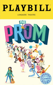 The Prom The Broadway Musical Limited Edition Official Opening Night Playbill
