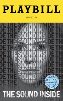 The Sound Inside Limited Edition Official Opening Night Playbill
