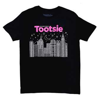Tootsie the Broadway Musical Skyline T-Shirt