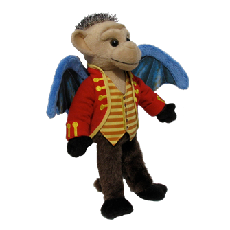 Wicked the Broadway Musical Chistery Plush Monkey