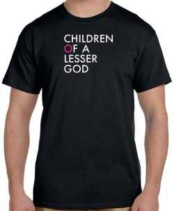 Children of a Lesser God - Logo T-Shirt