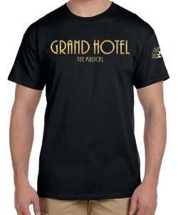 Grand Hotel the Musical Logo T-Shirt