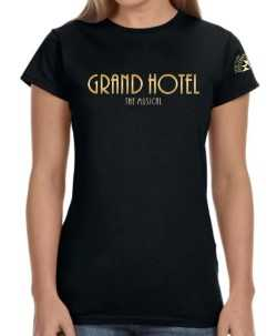 Grand Hotel the Musical Ladies Logo T-Shirt