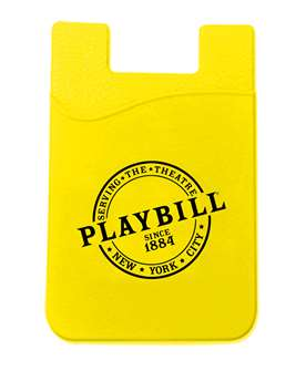 Playbill 1884 Phone Wallet