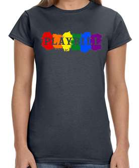 Playbill Pride Ladies T-Shirt