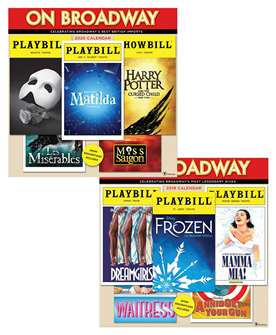 On Broadway: The 2019 and 2020 Playbill Wall Calendar Combo