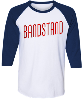 Bandstand First National Tour Raglan T-Shirt