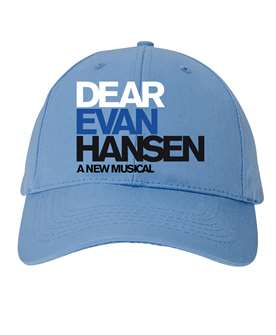 Dear Evan Hansen the Broadway Musical Lt Blue Cap