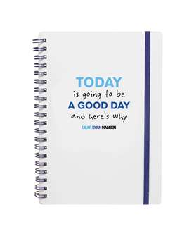 Dear Evan Hansen spiral notebook