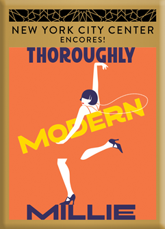 Thoroughly Modern Millie Magnet - Encores