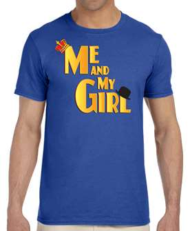 Me and My Girl the Musical Logo T-Shirt 2018 Encores