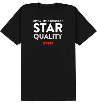 Evita - Star Quality T-Shirt