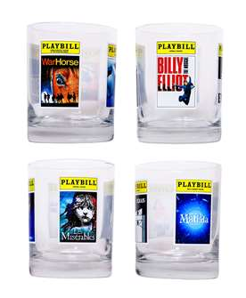 Playbill Glassware Collection - British Imports