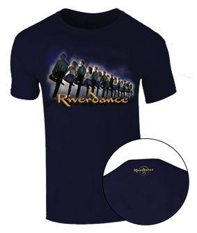 Riverdance 25th Anniversary Logo T-Shirt