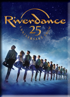 Riverdance 25th Anniversary Magnet