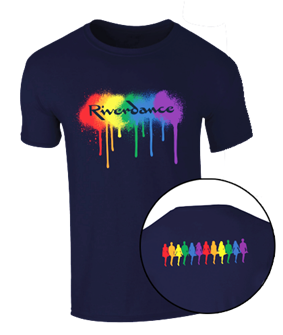 Riverdance 25th Anniversary Pride T-Shirt