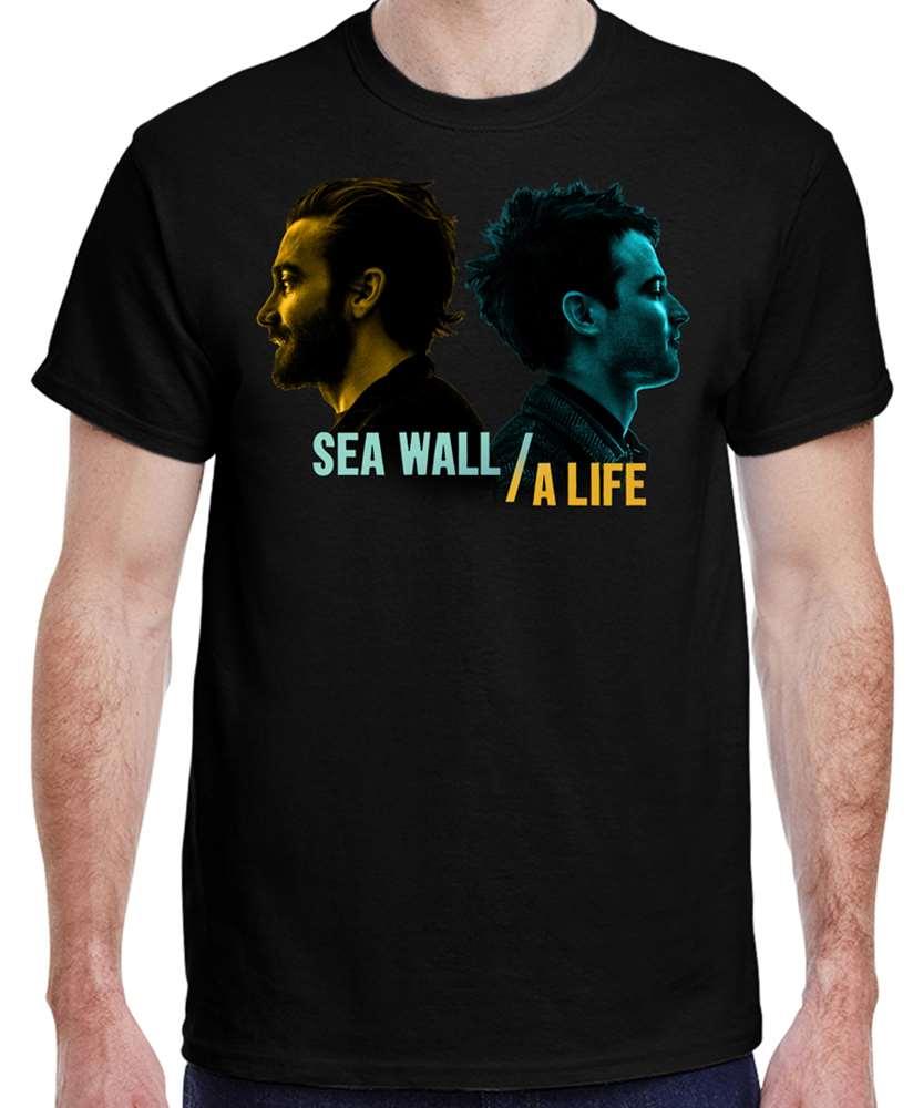 45b69cbe Sea Wall/A Life Black Logo T-Shirt - Sea Wall/A Life   PlaybillStore.com