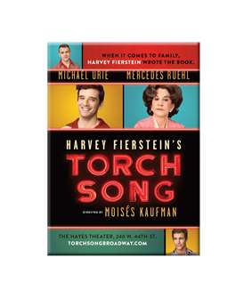 Torch Song On Broadway - Magnet