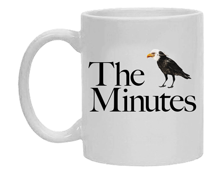 The Minutes the Broadway Play Mug
