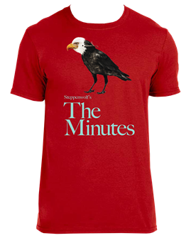 The Minutes the Broadway Play Logo T-Shirt